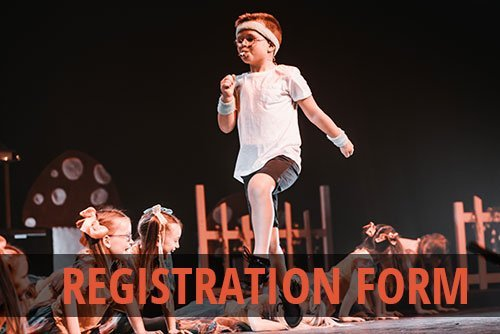 Miss Ali Stage School Online Registration Form
